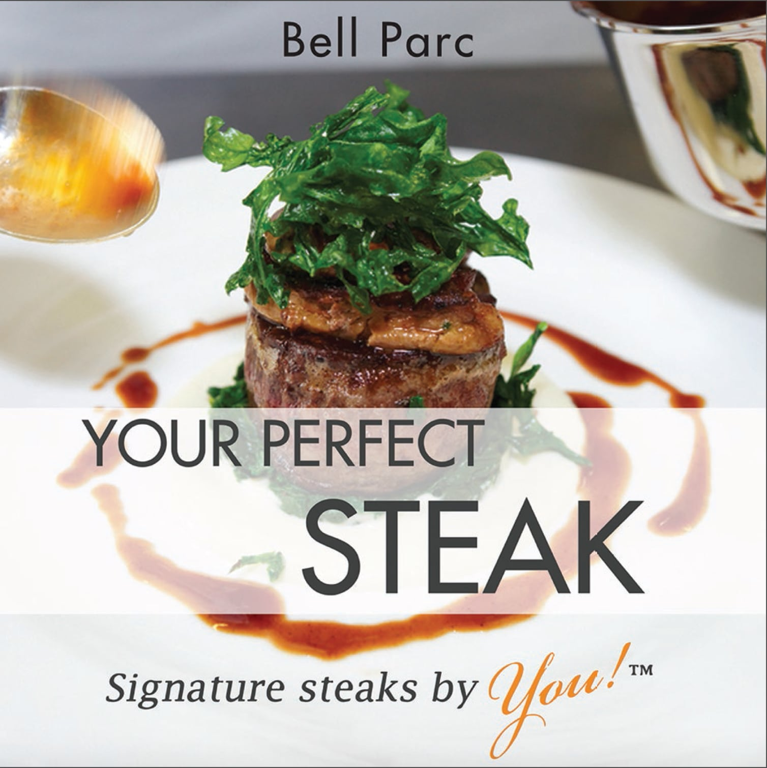 Steak book Cover