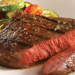 Glazed-steak