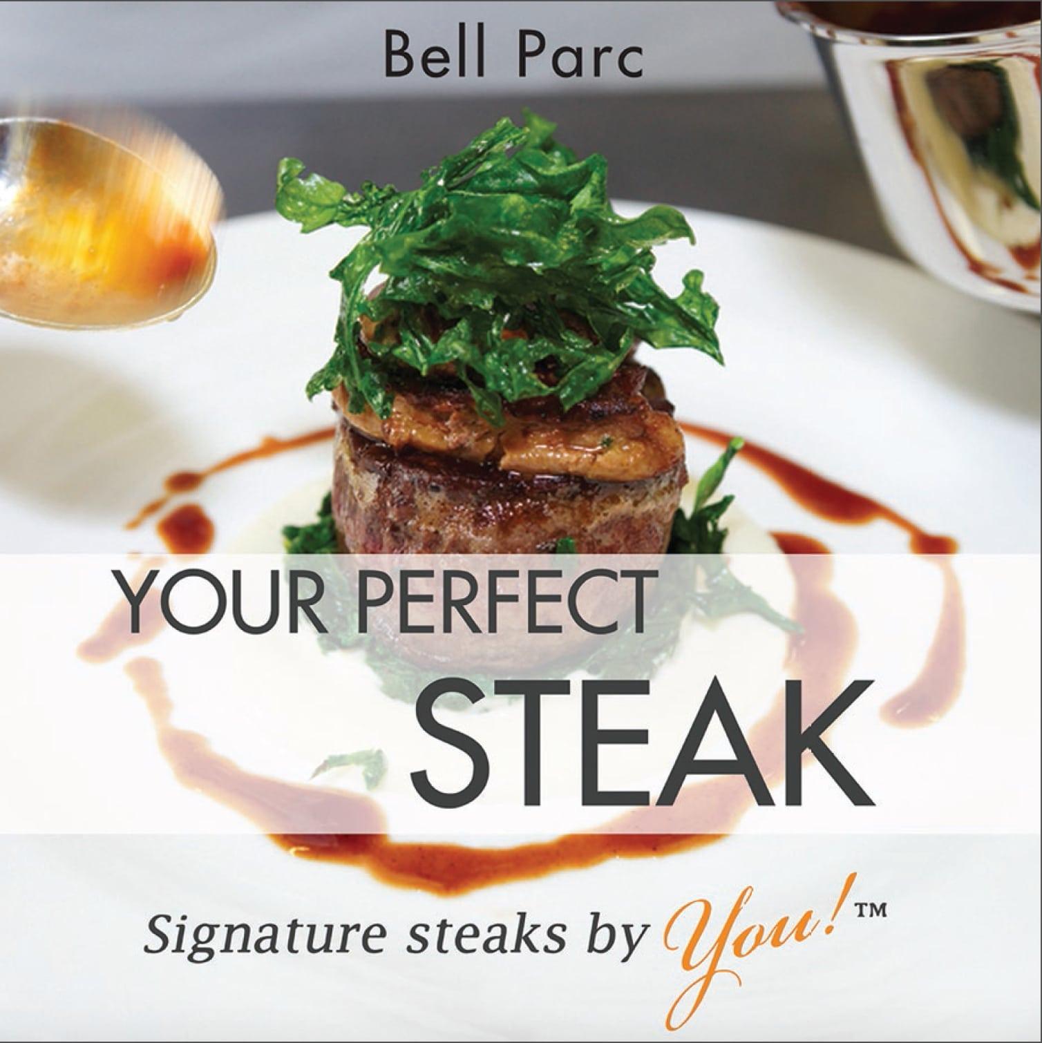 Steak book Cover