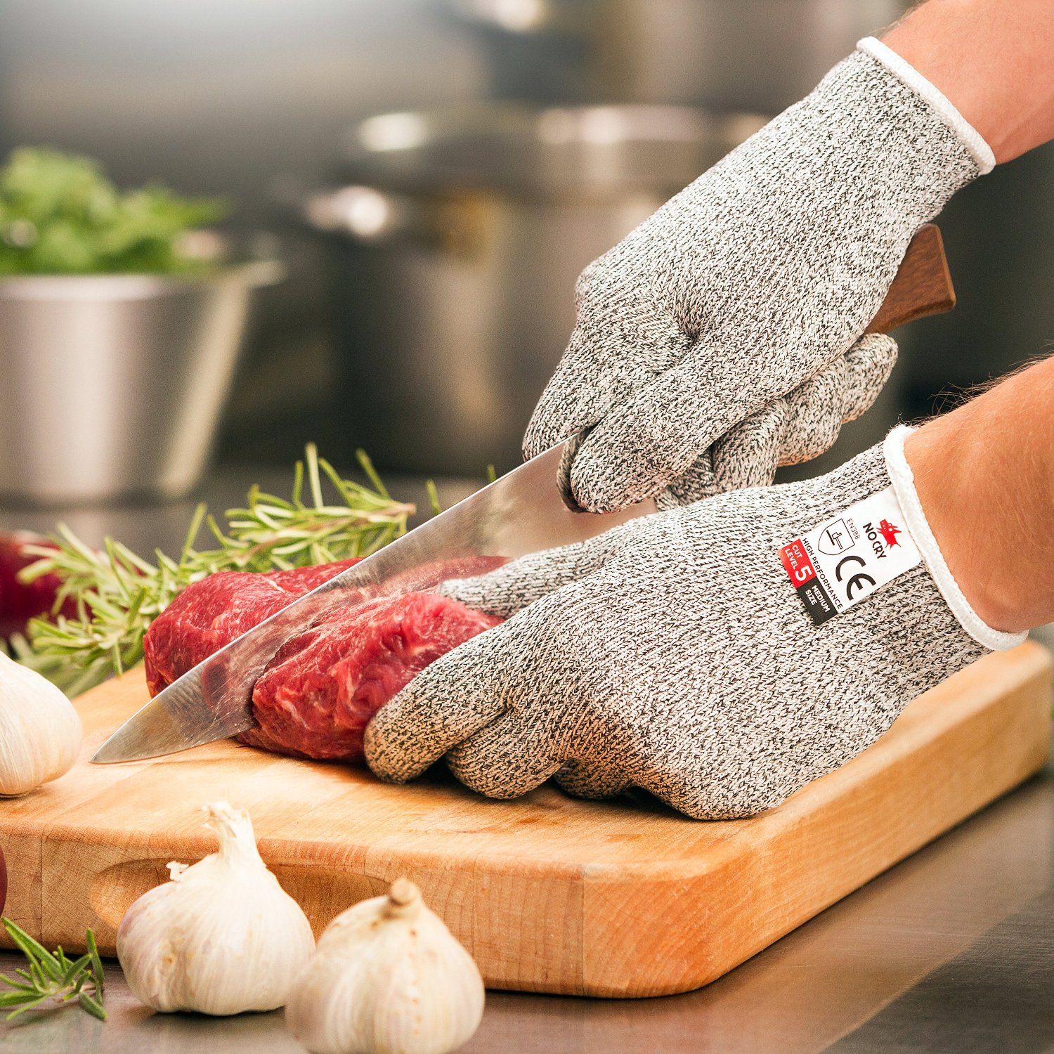 4NoCry Cut Resistant Gloves