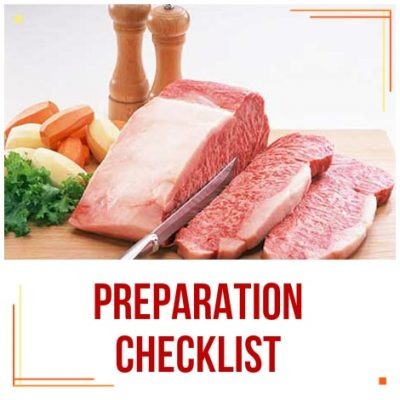 Preparation Checklist 2