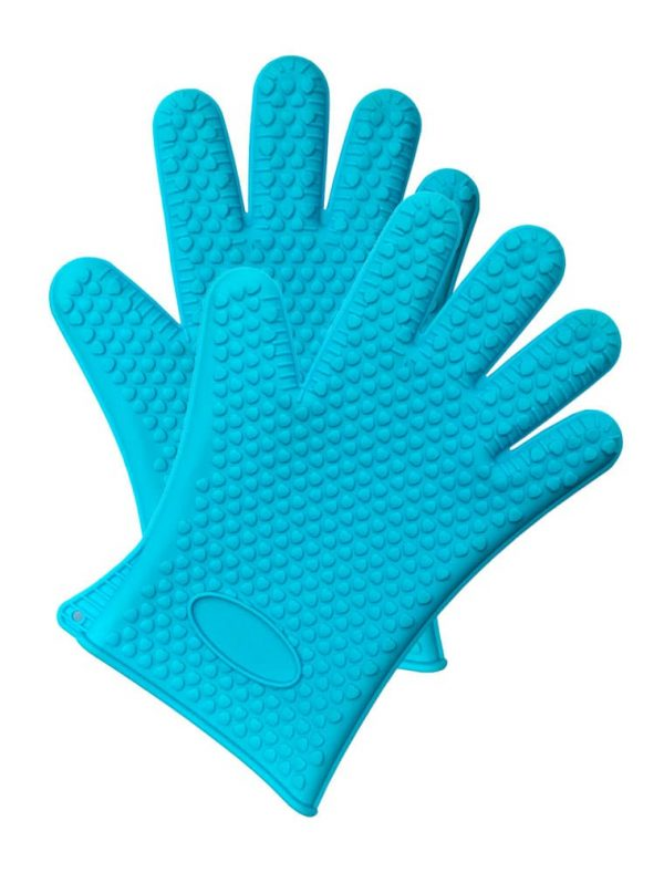 Silicone BBQ Gloves - Pair