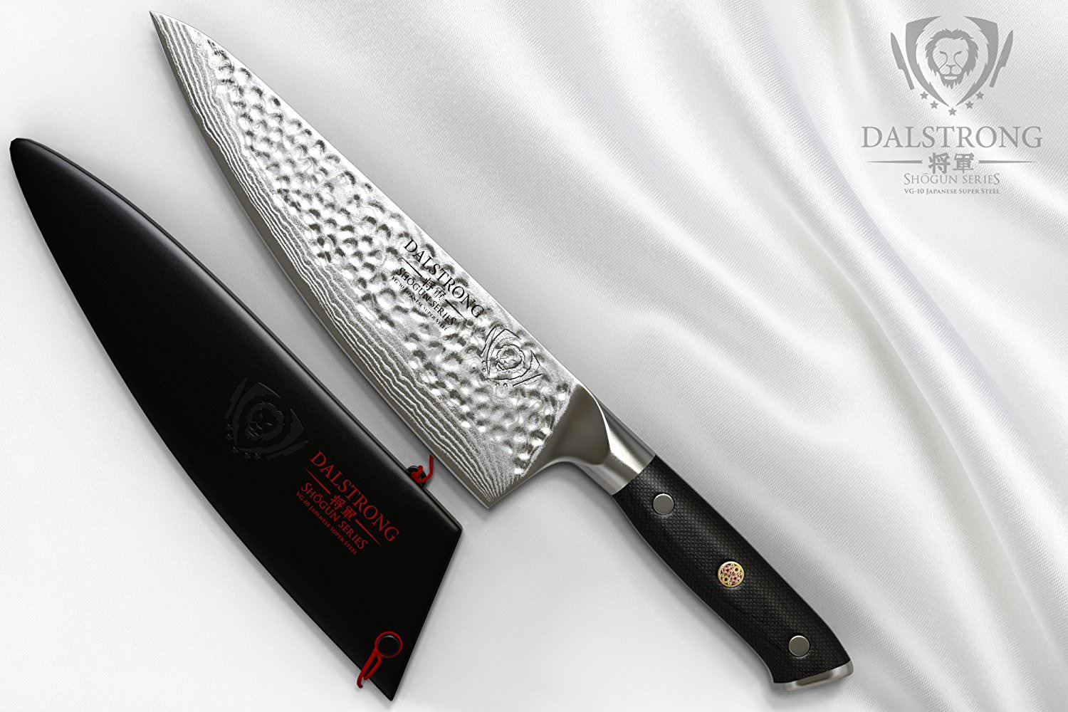 Dalstrong Gyuto – VG10 Hammered Finish 8-15