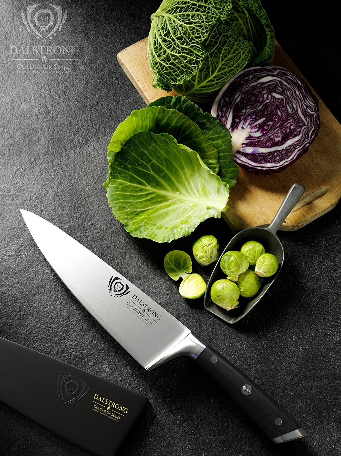 Dalstrong Gladiator 8 Chef Knives123