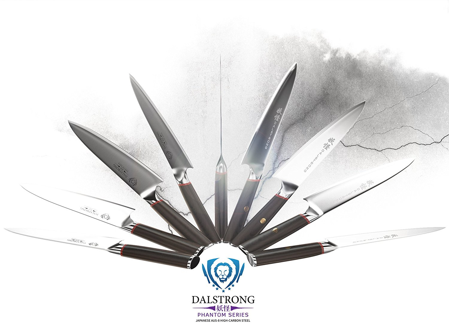 DALSTRONG Chef Knife – Phantom Series – Japanese AUS8 Steel – 8inch-23