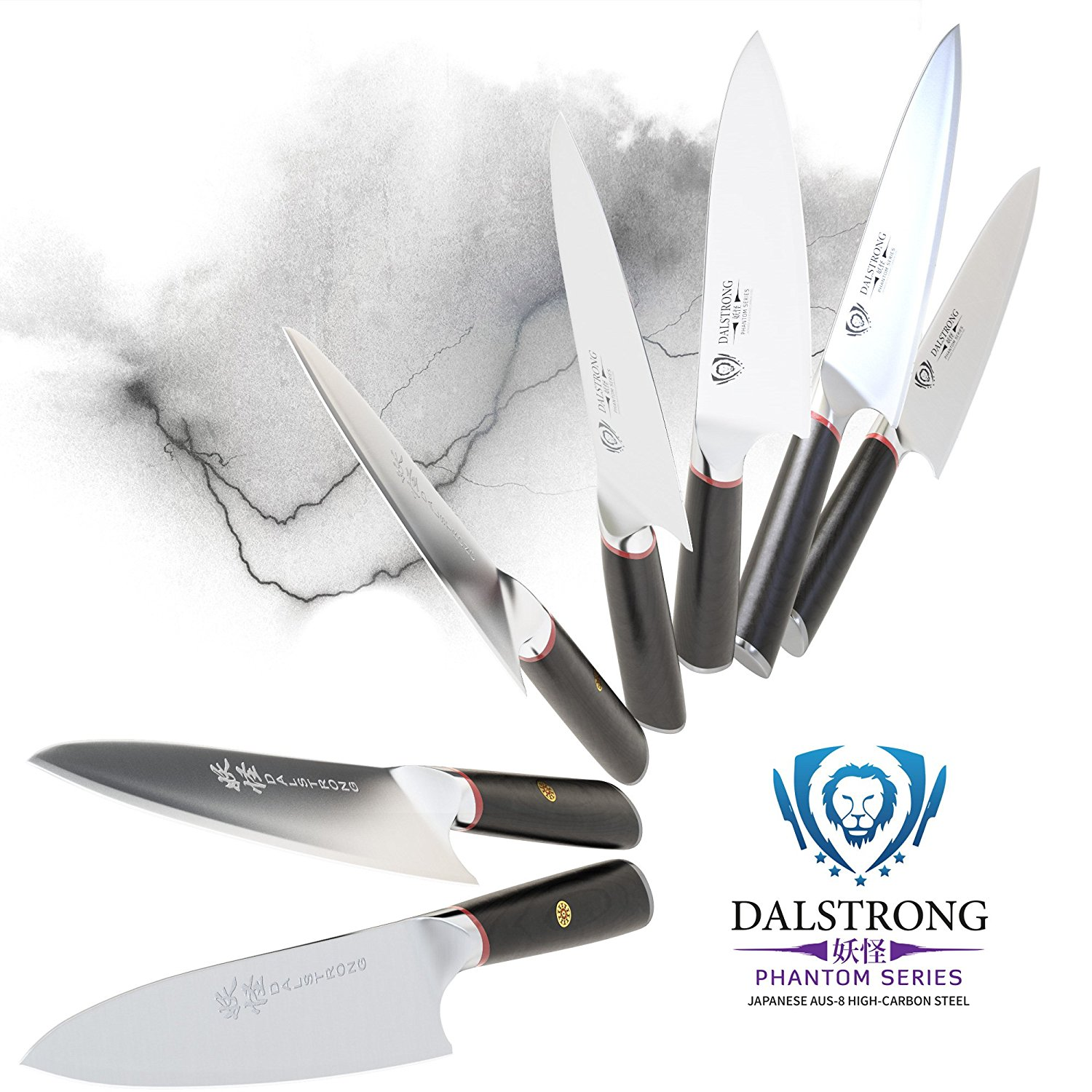 DALSTRONG Chef Knife – Phantom Series – Japanese AUS8 Steel – 8inch3